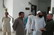 Imam Abdul Wahid Pedersen of Danish Muslim Aid (right) inspecting interior of Iqbal Eye Block